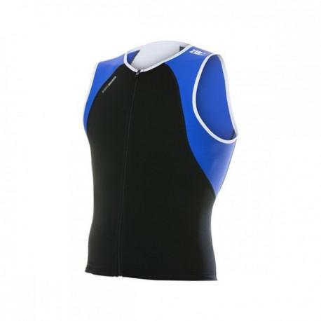 ZEROD Koszulka triathlonowa uSinglet Niebieska