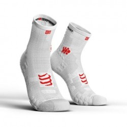 Compressport ProRacing Socks High V3.0 Białe