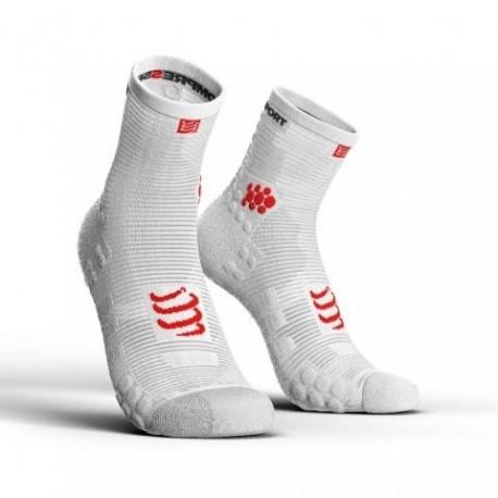Compressport ProRacing Socks High V3.0 Białe