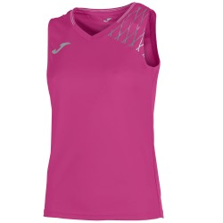Joma Sleeveless T-Shirt Open Flash Pink Women
