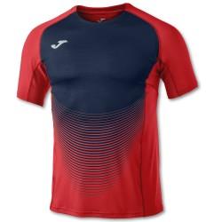 Joma Camiseta Elite VI Rojo-Marino