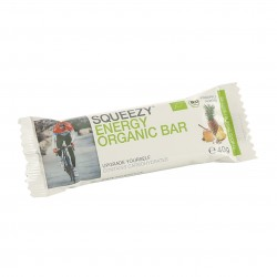 Squeezy Organiczny Baton Energetyczny 40g Ananas/Migdał