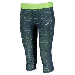 Joma Capri Tights Free II Navy Blue-Green