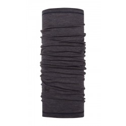 Buff Chusta Merino Wool Lightweight CHARCOAL GREY MULTI STRIPES
