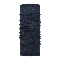 Buff Chusta Merino Wool Lightweight DENIM MULTI STRIPES