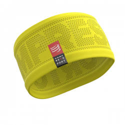 Compressport Headband V2 On/Off - Żółta